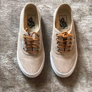 Shoes - Vans in Nude Beige